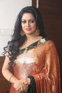 Udaya Bhanu lookssizzling in a Saree Choli at Gautam Nanda music launchi ~ Exclusive Celebrities Galleries 048.JPG