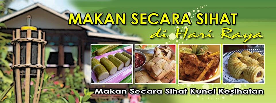 Image result for hari raya makan sihat