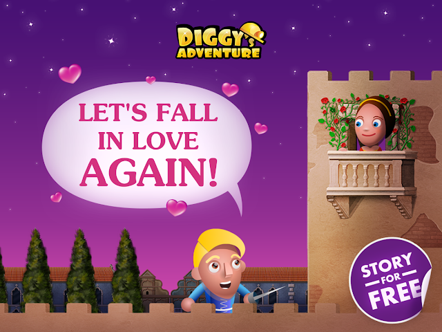 Diggy's Adventure Valentines Event Romeo and Juliet
