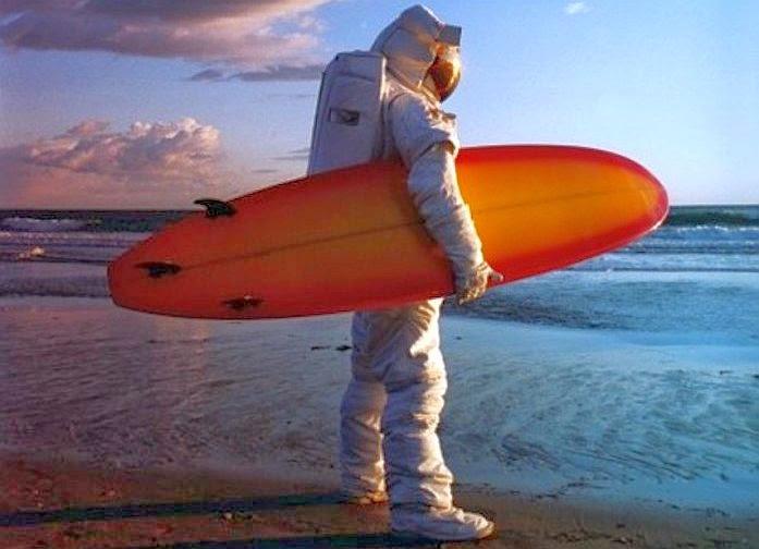 surfing en el espacio
