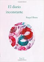 """Portada del libro """"El diario inconstante"""", de Raquel Brune"""