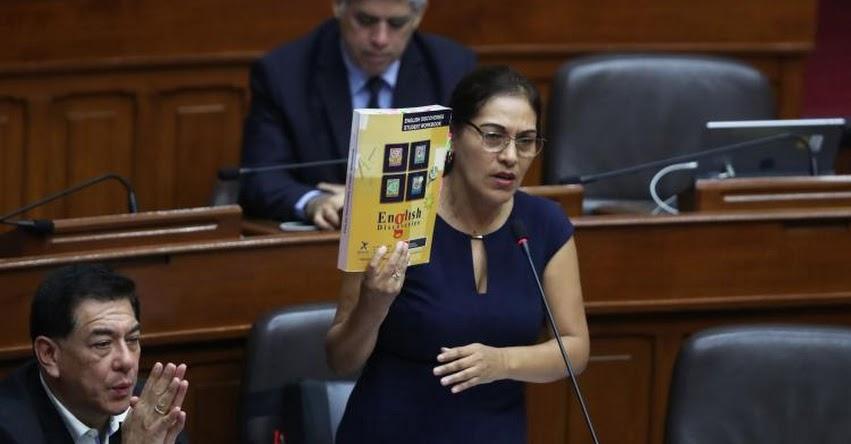 Denuncian que sobrino de congresista fujimorista Milagros Salazar habría trabajado irregularmente en el Congreso