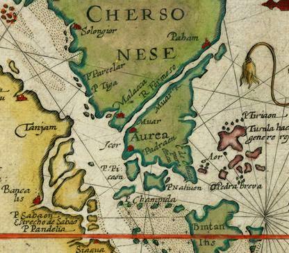 Hasil carian imej untuk old map portuguese Malaya