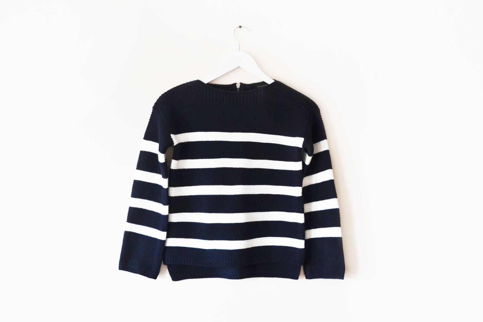 knitted striped jumper from primark