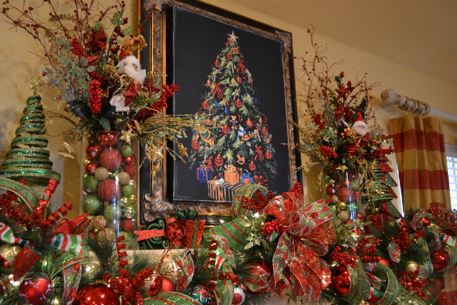 Kristen S Creations My Christmas Mantle
