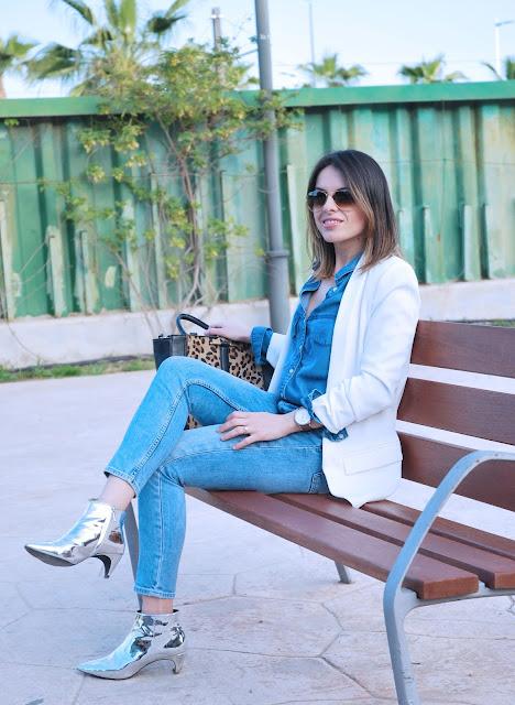 denim-on-denim-white-blazer-metallic-boots