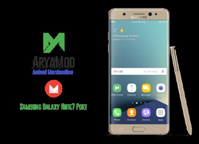 Samsung Note 3 [ROM][TW][Aroma][AOD]AryaMod Note7 Port V2 1