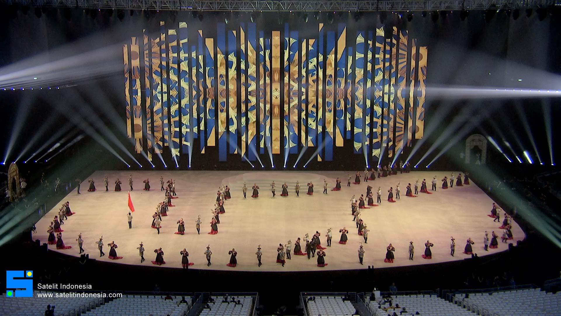 Frekuensi siaran SEA Games Phil Arena di satelit Measat 3a Terbaru