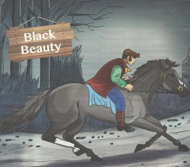 قصة Black Beauty او الجمال الاسود للثالث الاعدادى ترم اول منهج 2018 من كتاب gem