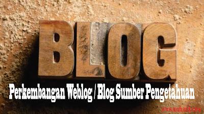 Sejarah Perkembangan Blog Lengkap