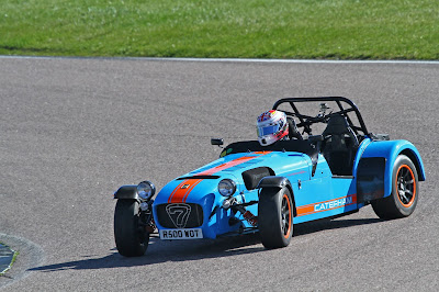 A nice bit of sideways at Rockingham International Super Sports Car Long Circuit