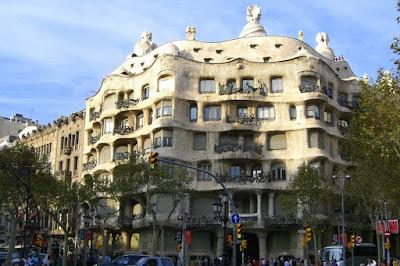 Casa Milà or La Pedrera in Barcelona
