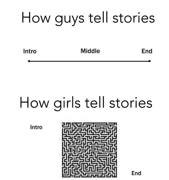 How guys and girls tell stories picture