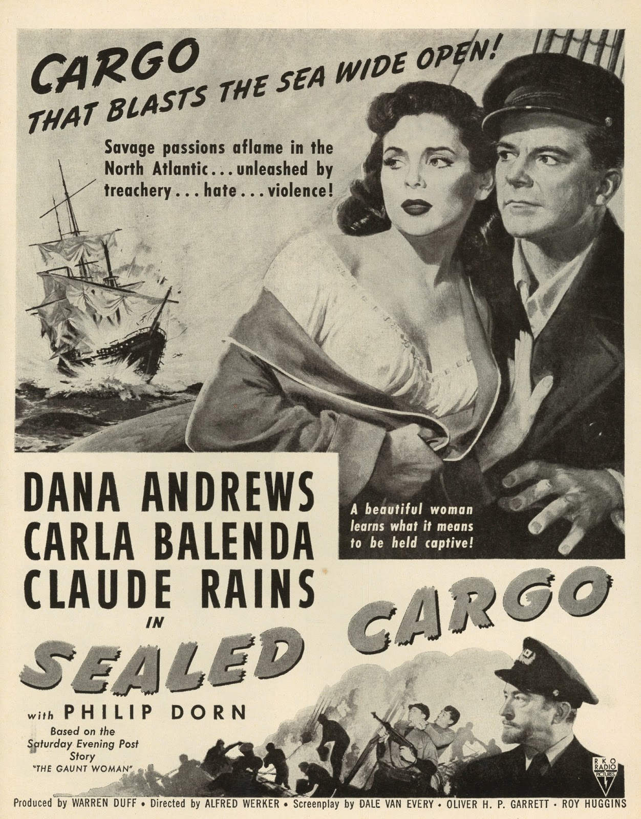 Greenbriar Picture Shows Dana Andrews On Troubled Water