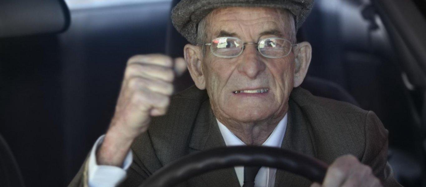 1,3 δευτερόλεπτα είναι η διαφορά στις αντιδράσεις ενός νέου και ενός ηλικιωμένου οδηγού