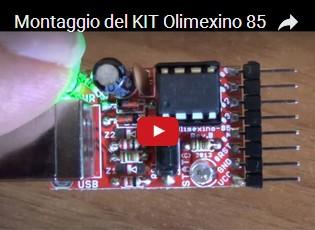 Montaggio del KIT Olimexino 85