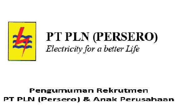 Lowongan Kerja PT PLN (Persero) dan Anak Perusahaan Besar Besaran