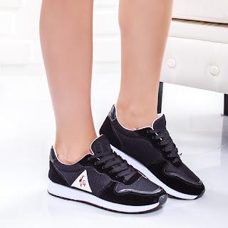 Pantofi sport Crini negri