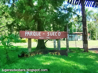 Parque Sueco, Villa Svea, Oberá