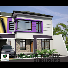 gambar desain rumah minimalis type 150 ( auto cad file ) 2
