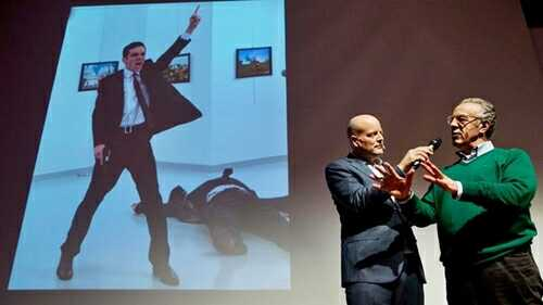 Horrific Photo of Russian Ambassador's Assassination Wins 2017 World Press Award