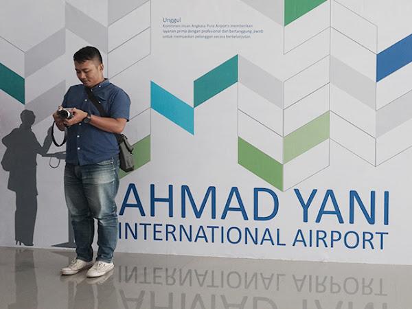 Wajah Baru Bandara Ahmad Yani Semarang