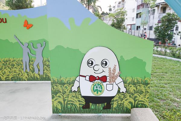 台中霧峰|阿罩霧公園|綠色拱橋|展演舞台|陽光草坪|落羽松|兒童遊戲區