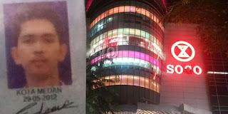 Terjun Bebas dari Lantai 3 Sun Plaza, Napitupulu Tewas