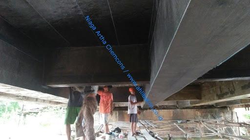 perkuatan struktur beton dengan bahan fibre composite