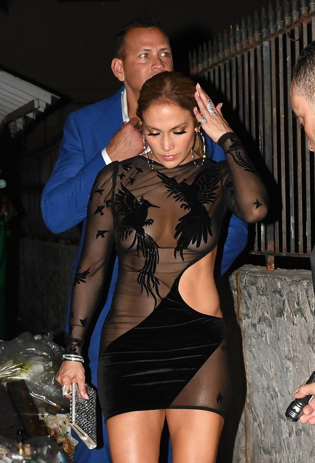 JLo is nearly nude for 48th birthday celebrations
