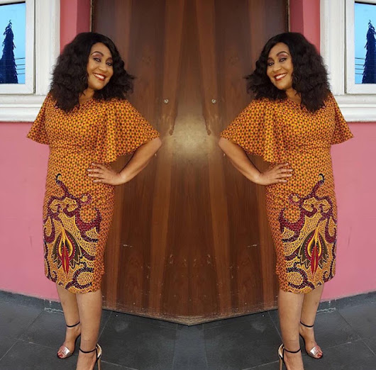 Hmmm Simple and Lovely Ankara Short Gown Styles For Ladies