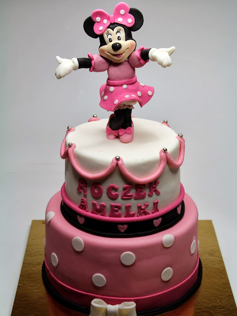 Minnie Mouse Birthday Cake for Girl , London Cakes