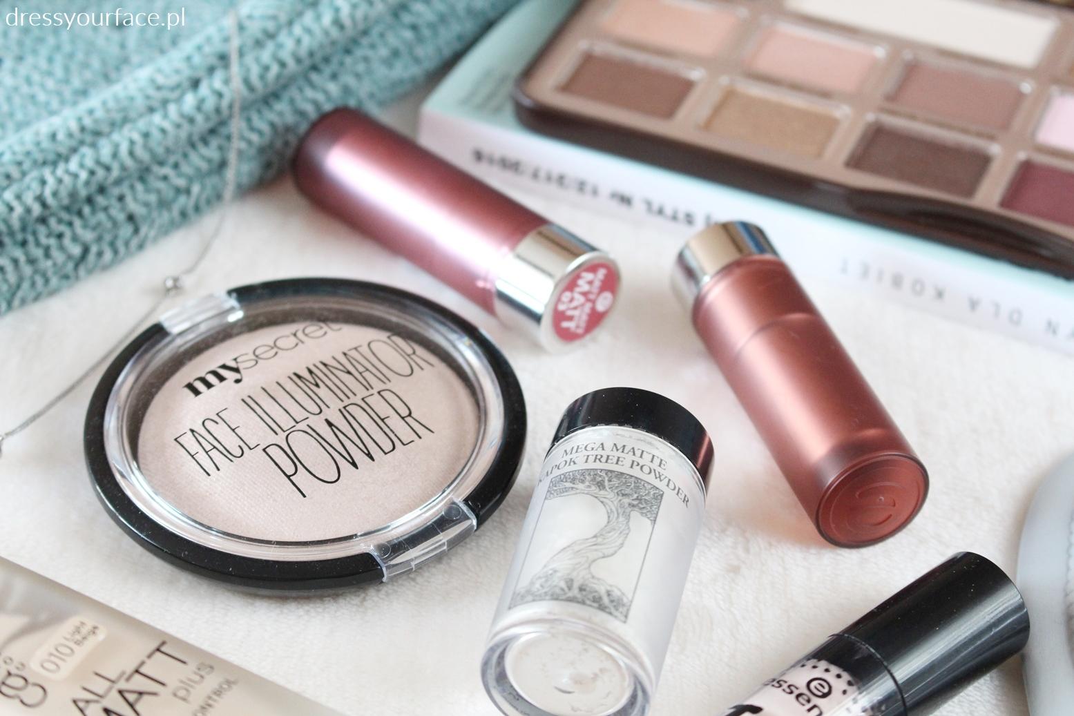 my secret rozświetlacz pixie cosmetics puder