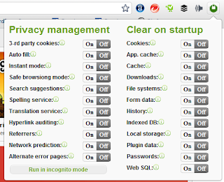 best way to manage privacy setting google chrome
