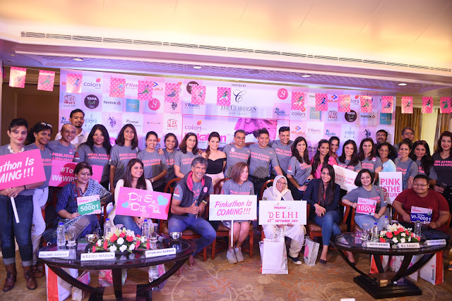 COLORS presents Pinkathon Empowering Indian Women Inspiring Partners Bajaj Electricals Comes To Delhi For The Fifth Edition!