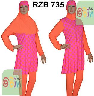 baju renang syari RZB 735