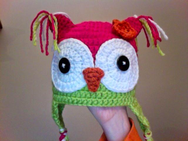 Knotty Knotty Crochet  Hoot Hoot! Owl hat FREE PATTERN!! 3b99a265521