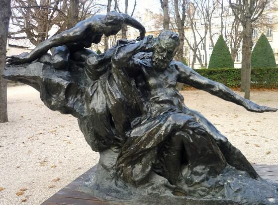 Rodin's statue of Victor Hugo