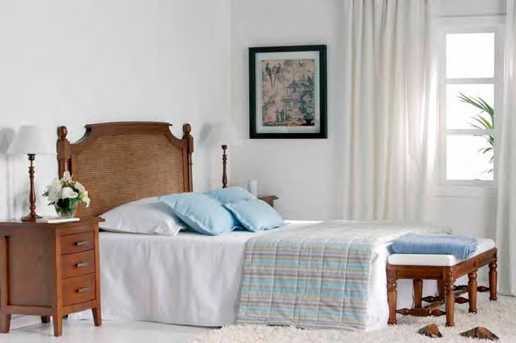 Muebles de dormitorio cabeceros de madera de estilo colonial - Dormitorio estilo colonial ...