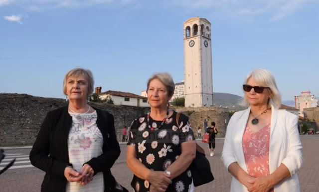 Three Australian sisters seek the roots of their fathers in Albania
