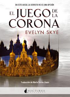 """""""El juego de la corona"""" de Evelyn Skye"""