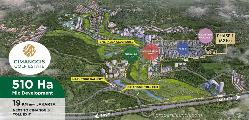 Master Plan Cimanggis Golf Estate
