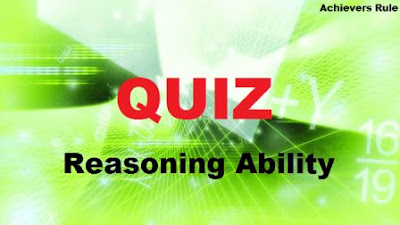 Reasoning Ability: Practice Set for IBPS Exam