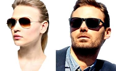 Protección ojos gafas rayos sol