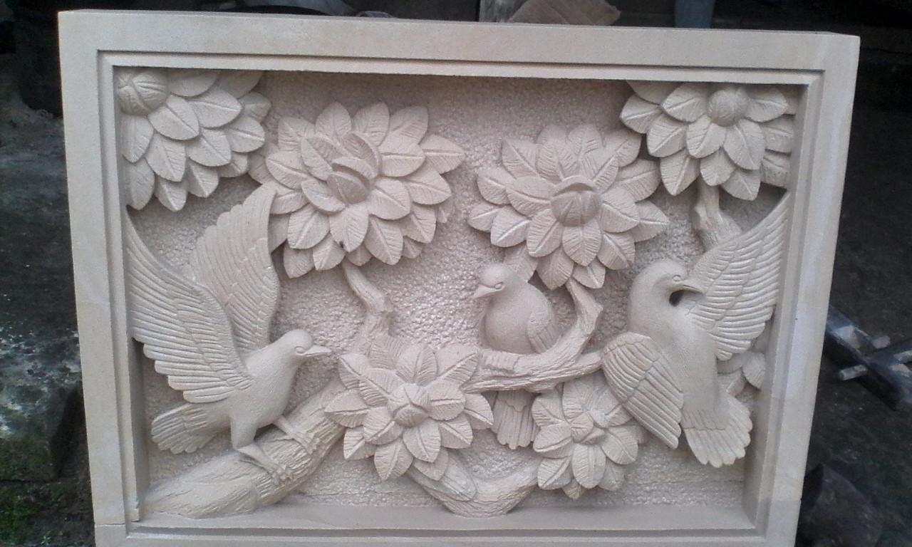 Relief Ornamen Dinding Rumah