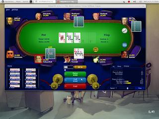 Main poker di Ubuntu