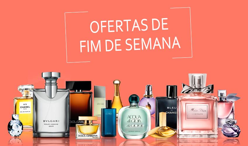 Ofertas de fim de semana - Perfumes Importados
