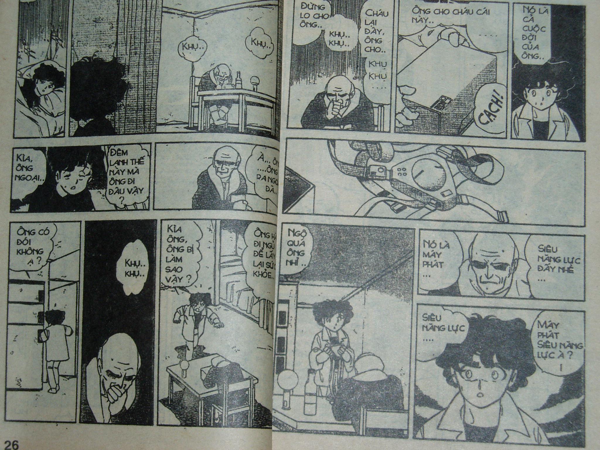 Siêu nhân Locke vol 14 trang 13