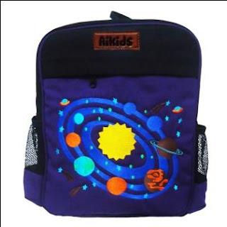 tas ransel anak, tas anak aikids, tas angkasa, tas lucu