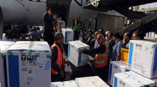 Llega a Siria cargamento de vacunas procedente de Cuba